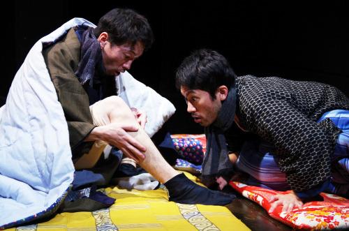 青年団リンクホエイ_珈琲法要_『珈琲法要』2013(C)Nagare Tanaka